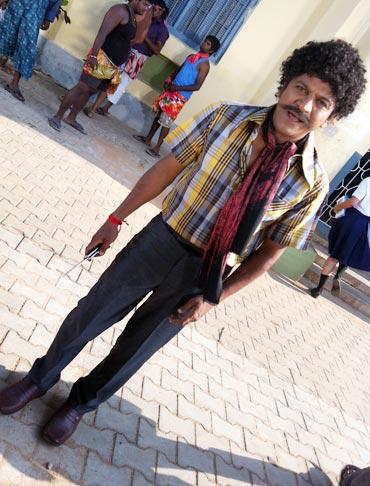 Shivrajkumar's look in Jogayya