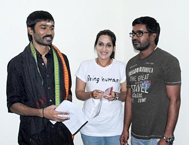 Dhanush, Aishwarya and Selvaraghavan