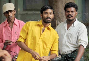 A still from Aadukaalam
