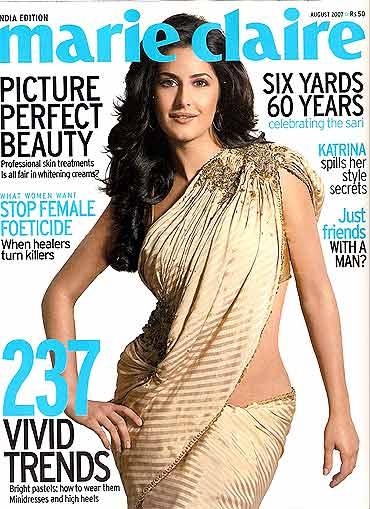 Katrina Kaif Hot Saree
