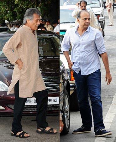 Vinod Khanna and Ashutosh Gowariker