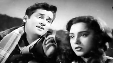 Shammi Kapoor and Ameeta in Tumsa Nahin Dekha