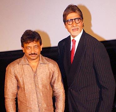 Ram Gopal Varma and Amitabh Bachchan