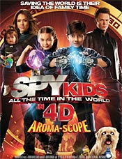 Movie poster of Spy Kids 4D