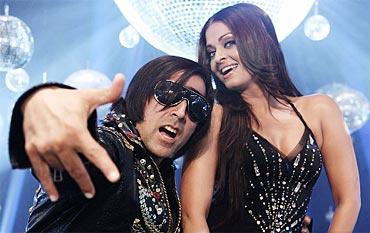 Akshay Kumar and Aishwarya Rai Bachchan