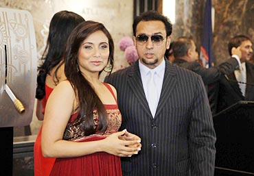Rani Mukerji and Gulshan Grover