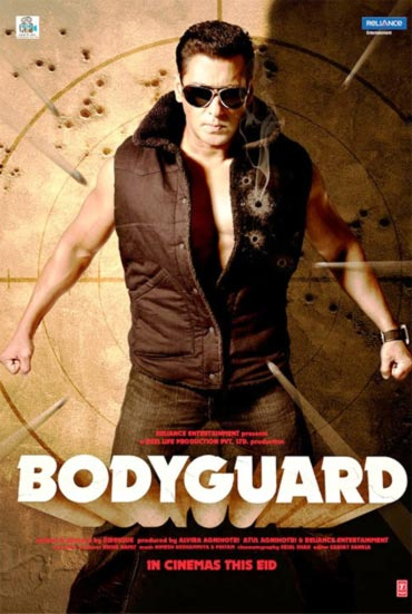 A Bodyguard movie poster
