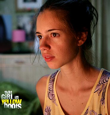 A still from That Girl In Yellow Boots'