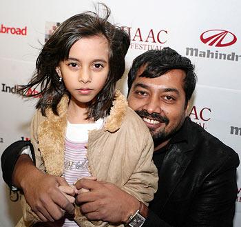 Aliya and Anurag Kashyap
