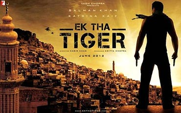 Poster of Ek Tha Tiger