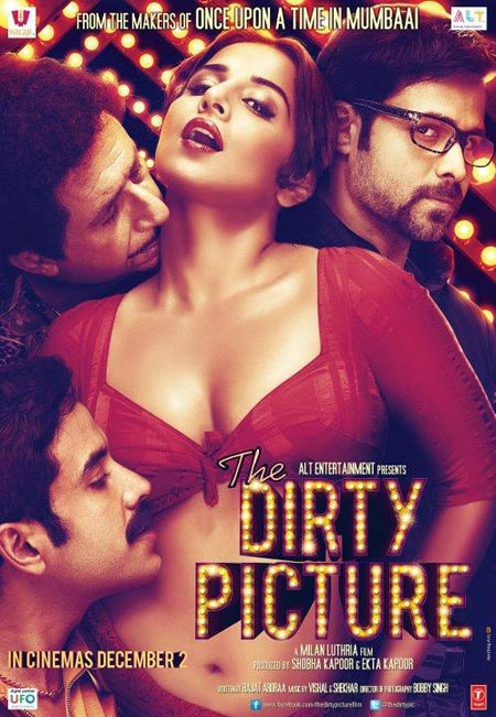 Movie poster of The Dirty Picture