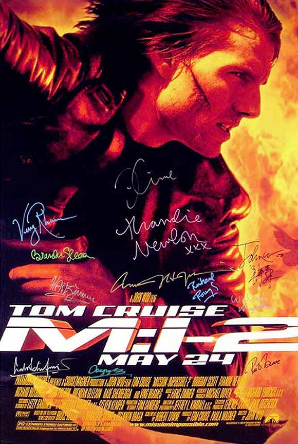 Movie poster of Mission Impossible 2