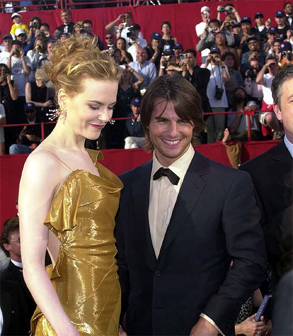 Tom Cruise with second wife Nicole Kidman