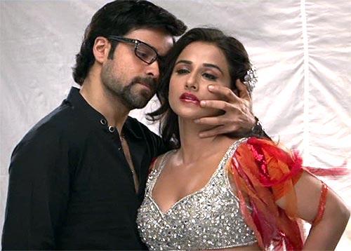 Emraan Hashmi and Vidya Balan