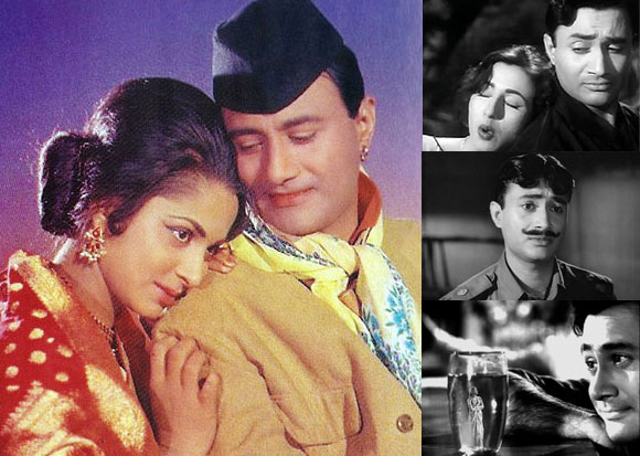 Dev Anand's different roles