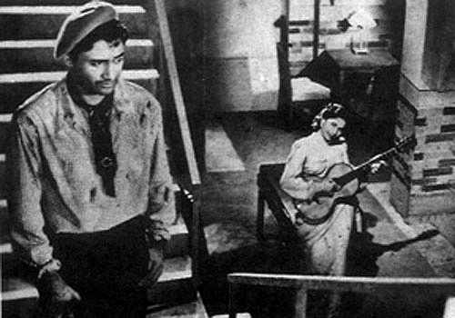 A scene from Baazi (1951)