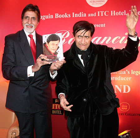 Amitabh Bachchan and Dev Anand
