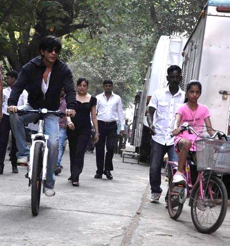 Shah Rukh Khan, Shehnaz and Suhana