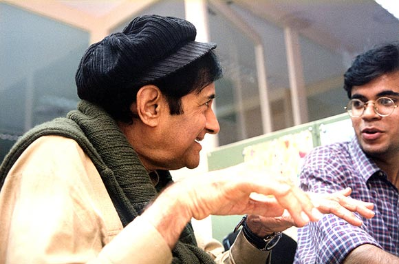 Dev Anand in conversation with Suparn Verma