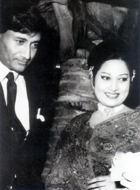 Dev Anand with Suraiya