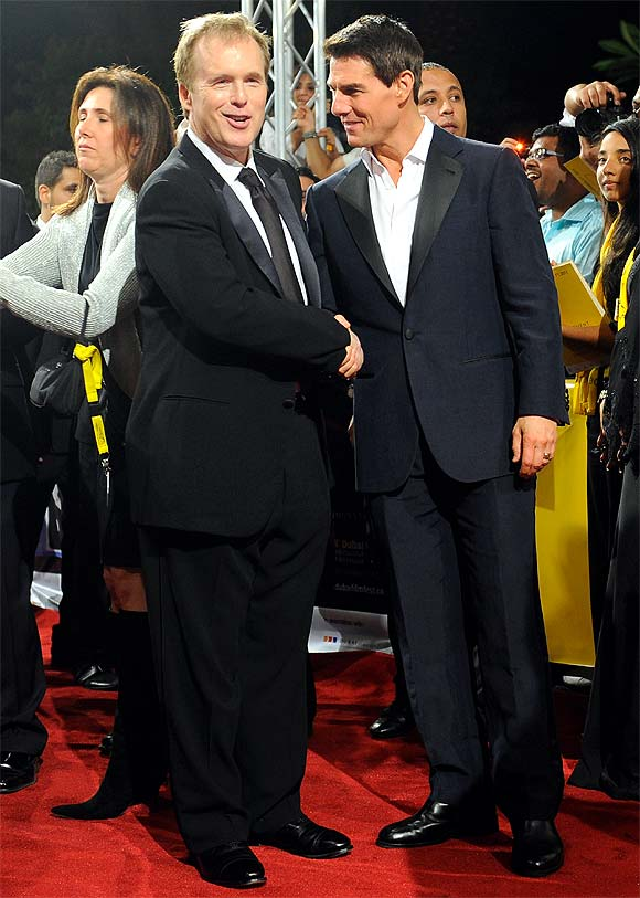 Brad Bird and Tom Cruise