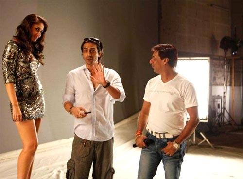 Kareena Kapoor, Arjun Rampal and Madhur Bhandarkar