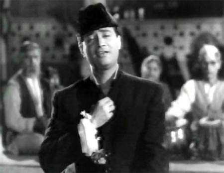 Dev Anand in Kala Pani