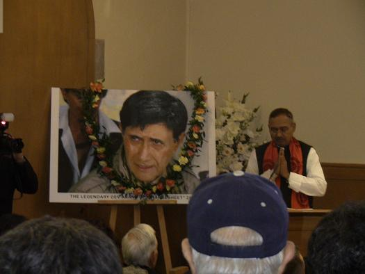 Dev Anand given a tearful farewell in London