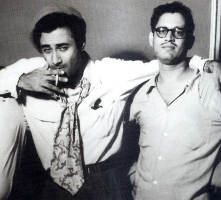Dev Anand and Guru Dutt