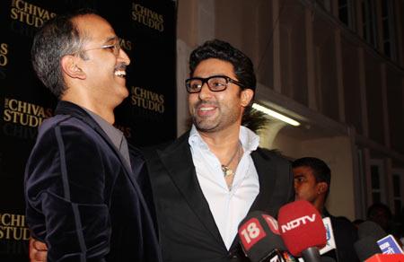 Rohan Sippy and Abhishek Bachchan