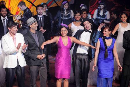 Rahul Dev, Roan Sippy, Shahana Goswami, Ali Fasal and Hazel Keech
