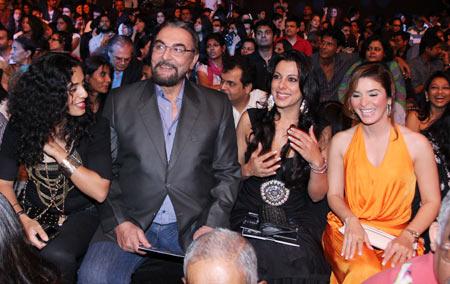 Parveen Dusanj, Kabir and Pooja Bedi, Raageshwari Loomba