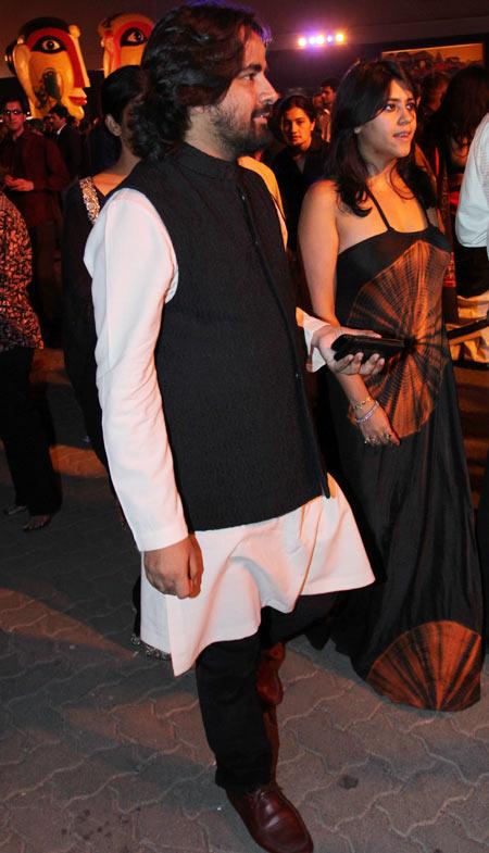Sabyasachi Mukherjee and Ekta Kapoor