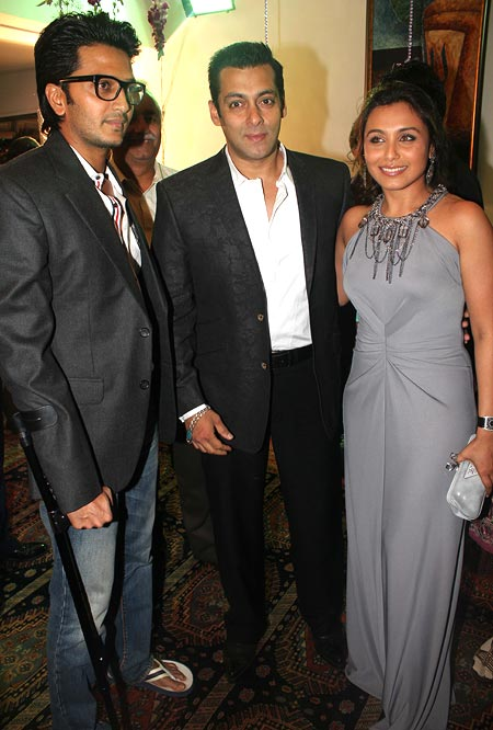 Riteish Deshmukh, Salman Khan and Rani Mukerji