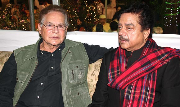 Salim Khan and Shatrughan Sinha