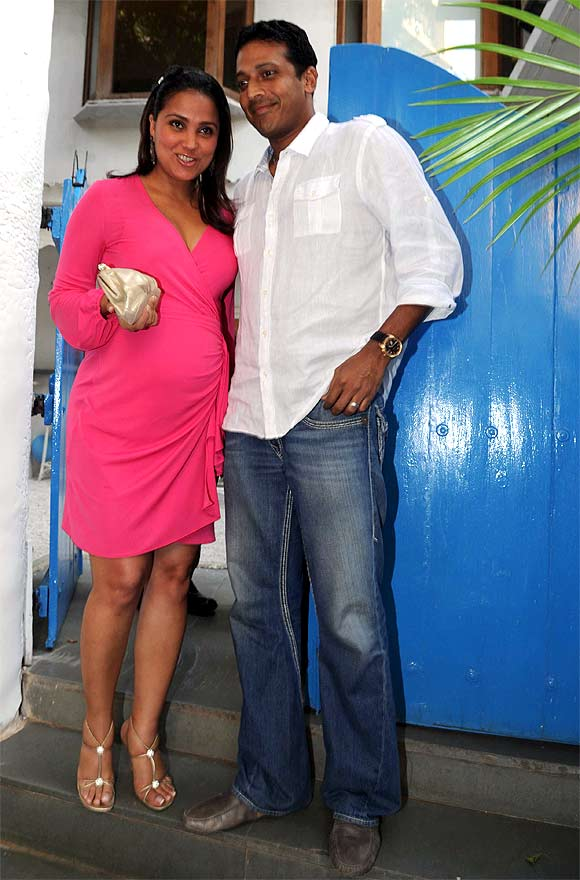 Lara Dutta with Mahesh Bhupathi