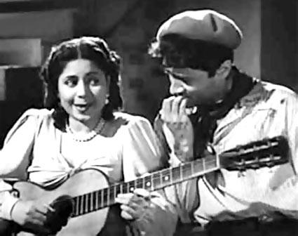 A scene from Baazi