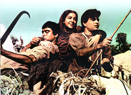 Sunil and Nargis Dutt
