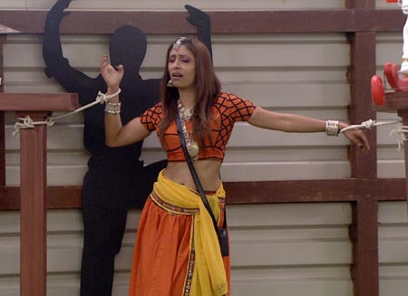 A scene from Bigg Boss