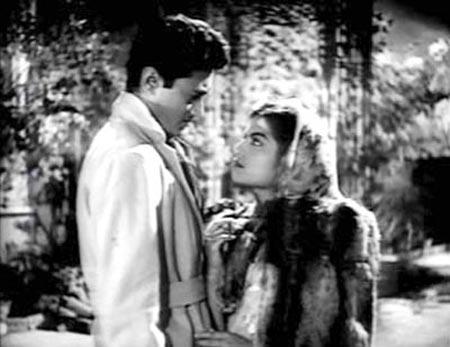 Dev Anand and Kalpana Karthik