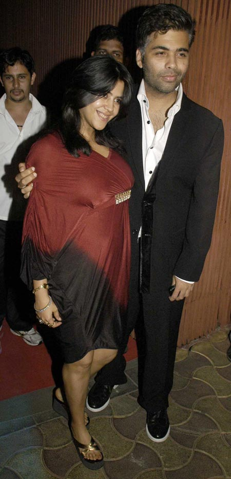 Ekta Kapoor and Karan Johar