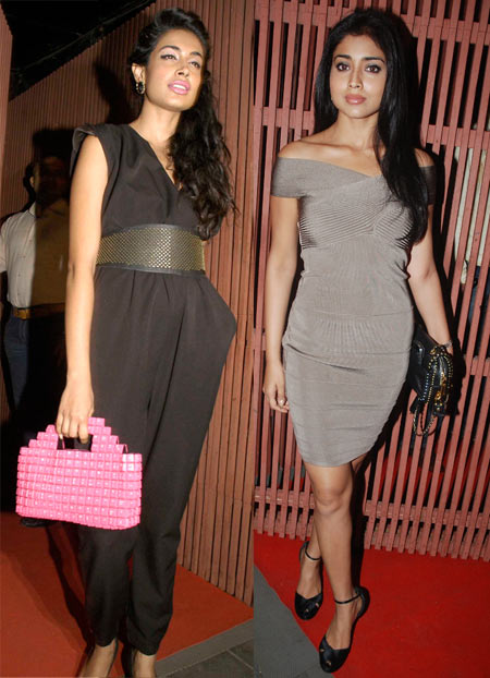 Sarah Jane Dias and Shriya Saran
