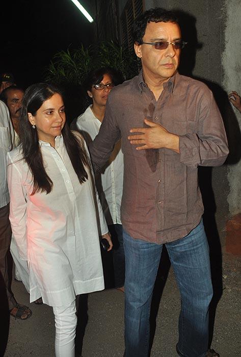 Anupama and Vidhu Vinod Chopra