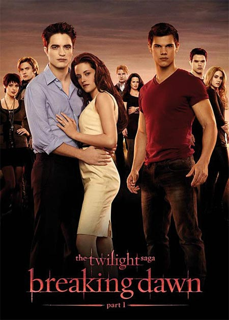 Movie poster of Twilight Saga: Breaking Dawn