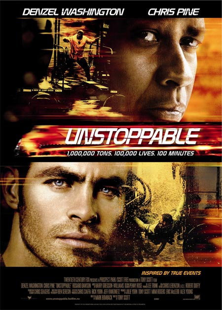 Movie poster of Unstoppable
