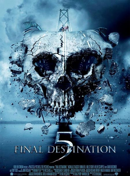Movie poster of Final Destination 5