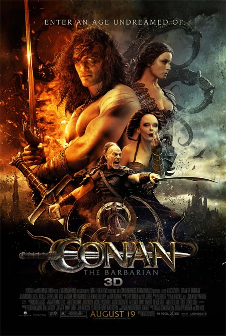 Movie poster of Conan The Barbarian