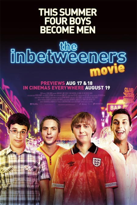 Movie poster of The Inbetweeners
