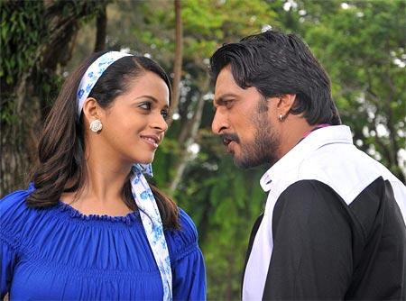 A scene from Vishnuvardhana
