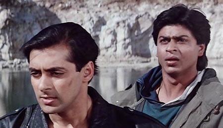 A scene from Karan Arjun